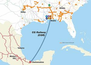 SEACOR And Genesee Wyoming Form Joint Venture To Own And Operate - Us freight railroad map