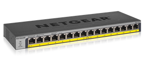 16-Port PoE/PoE+ Gigabit Ethernet Unmanaged Switch