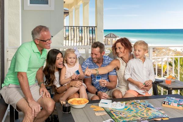Destin vacation rentals have reopened and provide a safe location for families to gather and enjoy their annual summer beach vacation.
