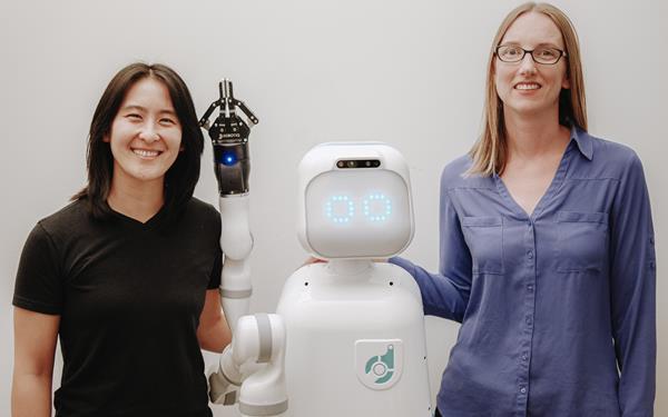 Diligent Robotics founders