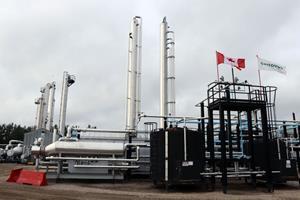 Wolf Lake natural gas plant