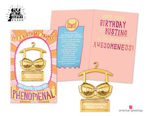 Laughs Take Top Honors With American Greetings New You Get A TrophyTM Birthday Cards