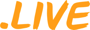 .LIVE domain logo