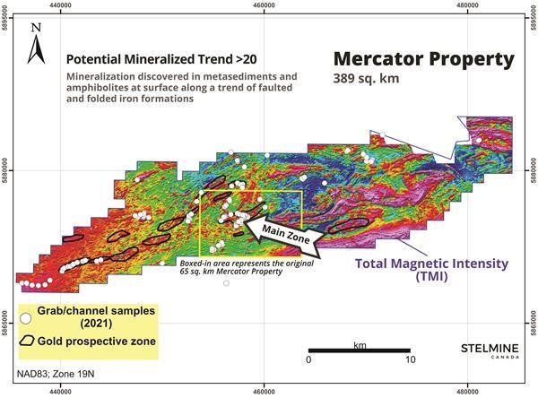 Mercator Project Map