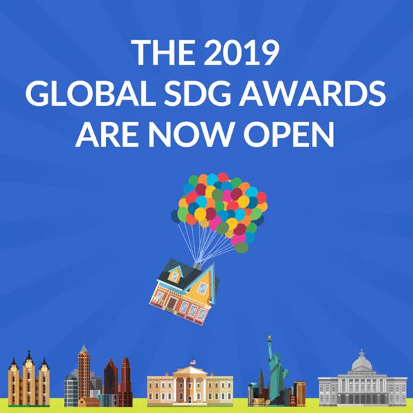 2019 Global SDG Awards Now Open - 800 x 800