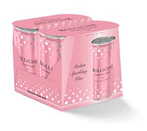 Bollicini Sparkling Rose - 4 pack