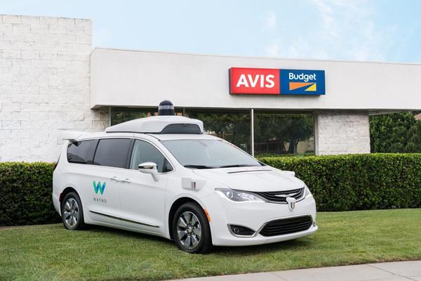 Avis Budget Group Enters Into Partnership With Waymo