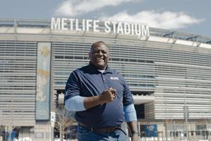Leonard Marshall Former New York Giants Superbowl Champion at Metlife Stadium