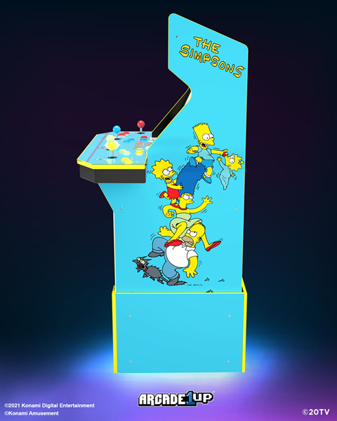 Introducing Arcade1Up's Simpson's At-Home Arcade Machine!