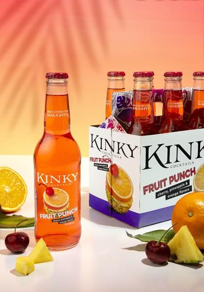 Ready-to-drink Kinky Cocktails Fruit Punch