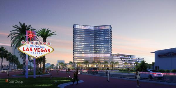 Dream Las Vegas set to open with 450 guest rooms & suites and seven dynamic dining & nightlife venues, including epic rooftop pool deck, bar and lounge, and two additional bar & lounge concepts on the gaming floor, in 2023.