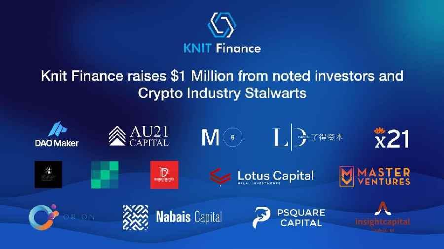 KnitFinance Secures $ 1million in Funding 1