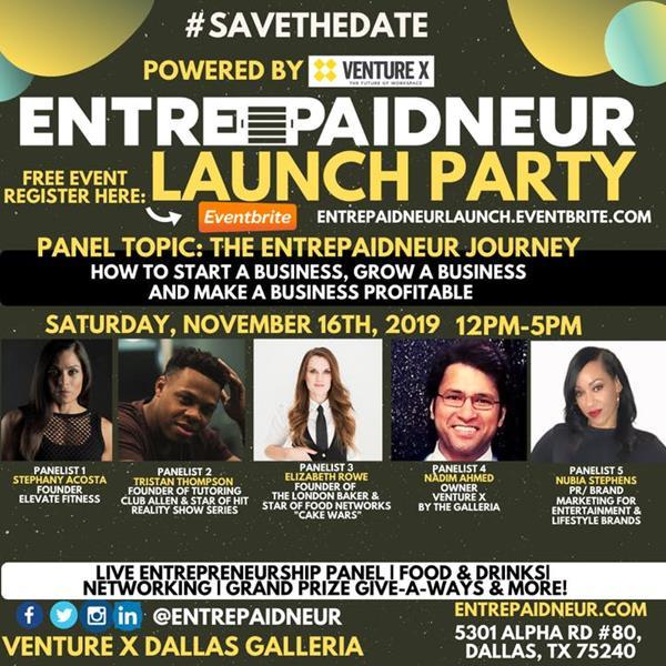Venture X Dallas by Galleria Invites DFW Startups This Saturday, Nov 16, 2019