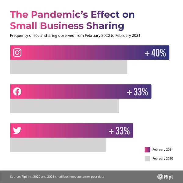 The Pandemic's Effect on Small Business Sharing