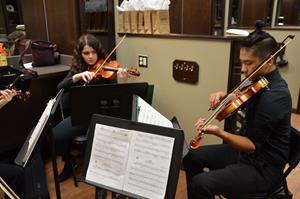Libertyville High School string quartet