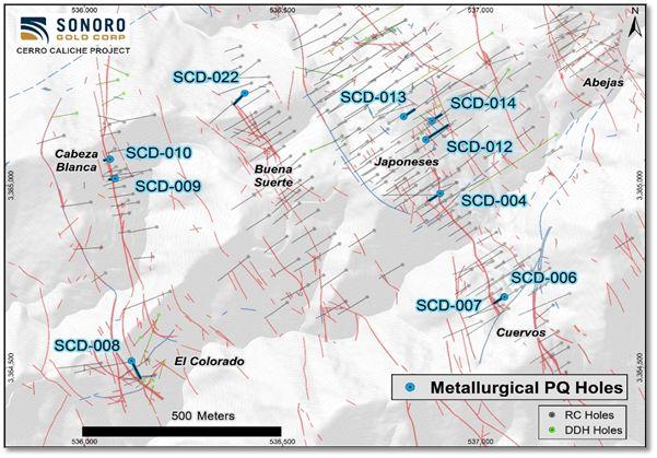 Figure 3. - Cerro Caliche Project Map
