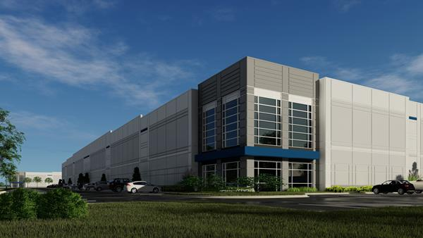 CT Realty Columbus logistics park rendering