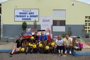 The Sandals Foundation - School Specialty - JA School Tour