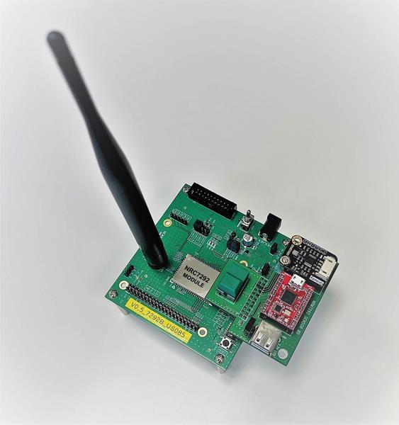 Wi-Fi HaLow Sensor powered by NRC7292
