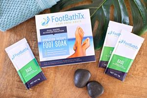 Soak Away Foot Odor at the Source with New FootBathTx Treatment