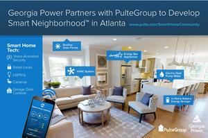 PulteGroup Partners with Georgia Power to Develop Smart Neighborhood in Atlanta, GA