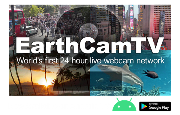 EarthCamTV 2, now available for Android TV