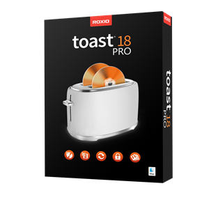 Roxio Toast 18: Complete Digital Toolkit for Mac