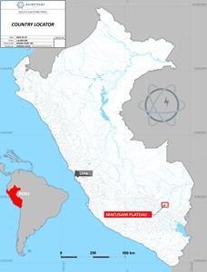 Macusani Plateau Location