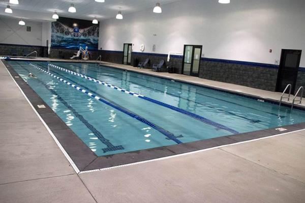 Lap pool area similar to what's planned for new Oak View club; photo is of an existing Genesis location