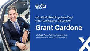 eXp Realty Agents Will Gain Access to Sales Training From the Author of The 10X Rule®