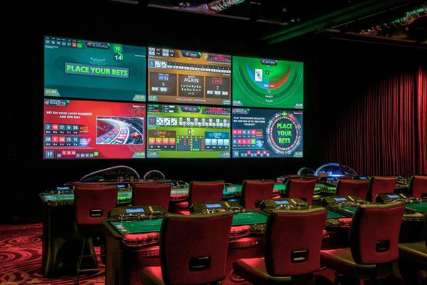 Interblock Stadium at Central Park gaming destination at Resorts World New York City Casino