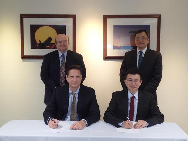 VIA/Geely Agreement Signing