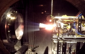ISE-100 Hot-Fire Test at Aerojet Rocketdyne's Redmond facility