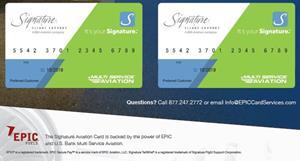 Signature Flight Card