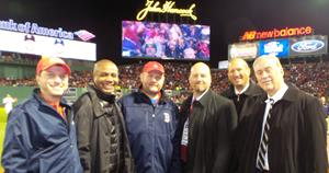 Boston Red Sox Responsible Fan of the Season Recognized at 2018 World Series Game 1