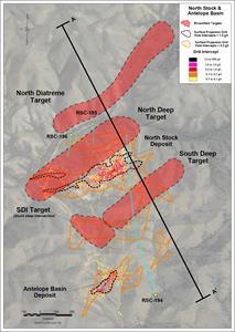 Figure 1: Rattlesnake Hills Gold Project Plan Map - November 2019