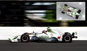 GESS & Capstone #88 Honda-Powered Indy Car
