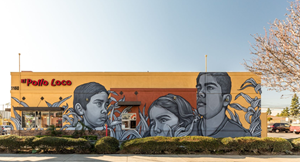 El Pollo Loco Celebrates Employees & Family with New Mural Installation