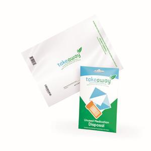 Sharps TakeAway Medication Recovery Envelope