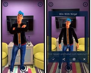 Ninja Gets His Own AR Avatar