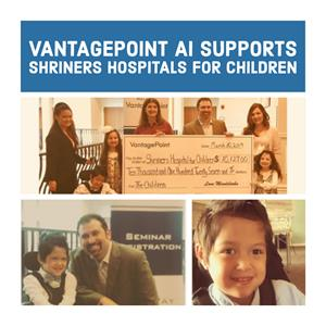 Vantagepoint Donates More Than $10,000 Again to Shriners Hospitals for Children