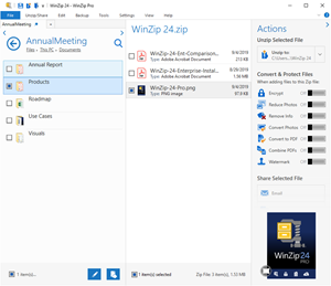 WinZip 24 Boosts Productivity and Performance for Secure