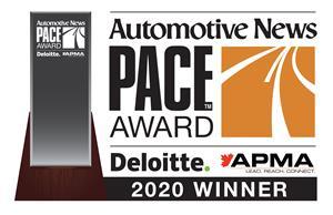 PACE Award winner 2020