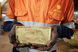 First Gold Pour - Wahgnion Gold Operations