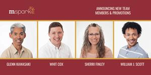 Mspark Announces New Team Members and Promotions