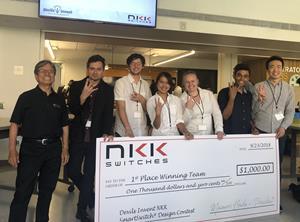 1st Place Team for ASU Devils Invent NKK SmartSwitch Design Challenge 2018