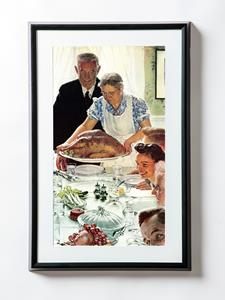 Freedom from Want by American Artist Norman Rockwell