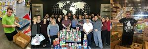 The Vantagepoint team raised over 411 pounds of food in over 1000 items for the needy in the community.