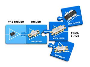 NXP RF power transistors designed for smart industrial applications