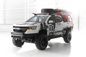 Gentex's Michigan-Themed Chevy Colorado